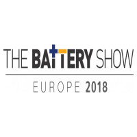 DOW AAS bo razstavljal v okviru'The Battery Show Europe 2018', 15.-17. May